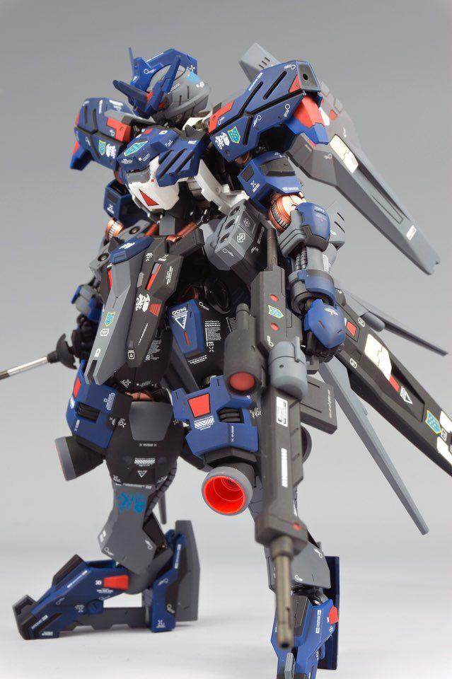 1/100 Full Mechanics Gundam Vidar - Painted Build Modeled by 제브리츠 MK.II