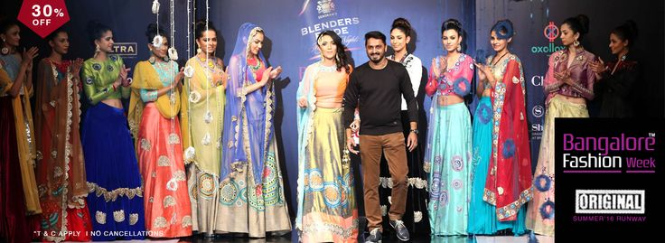 Bangalore fashion week 2016.
