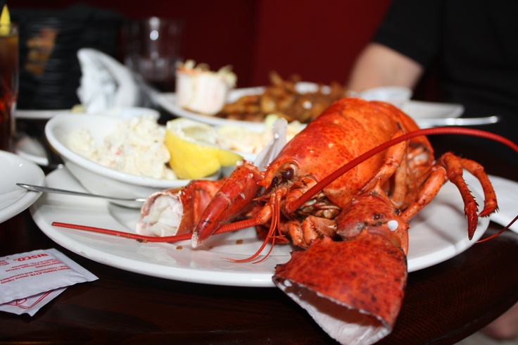 #lobster #lunch #Halifax #Nova Scotia