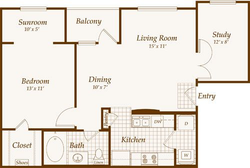 1000 ideas about apartment floor plans on pinterest for Pole barn with apartment floor plans