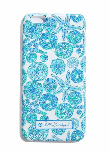Every Single Piece From The Lilly Pulitzer x Target Collection #refinery29 http://www.refinery29.com/2015/03/84530/lilly-pulitzer-target-collaboration-lookbook#slide-94 Lilly Pulitzer for Target Phone Case iPhone 6+ - Sea Urchin You, $20, available at Target.