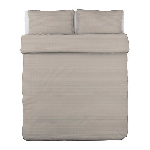 OFELIA VASS Duvet cover and pillowcase(s) IKEA Bedlinen densely woven from fine yarn; soft and durable quality.