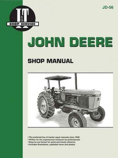 John Deere Shop Manual Series 2840, 2940, 2950