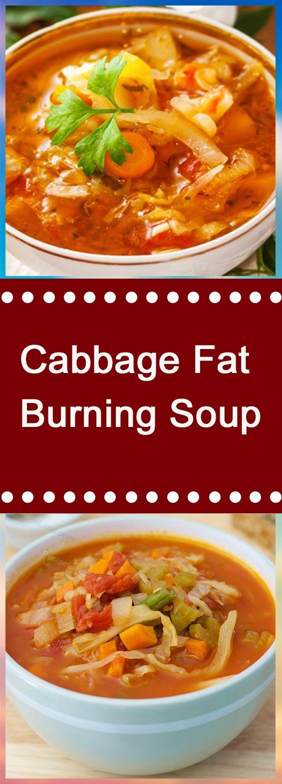 Cabbage Fat-Burning Soup #dinnerrecipes #souprecipes #dinner #dinnertime #soup #easydinner