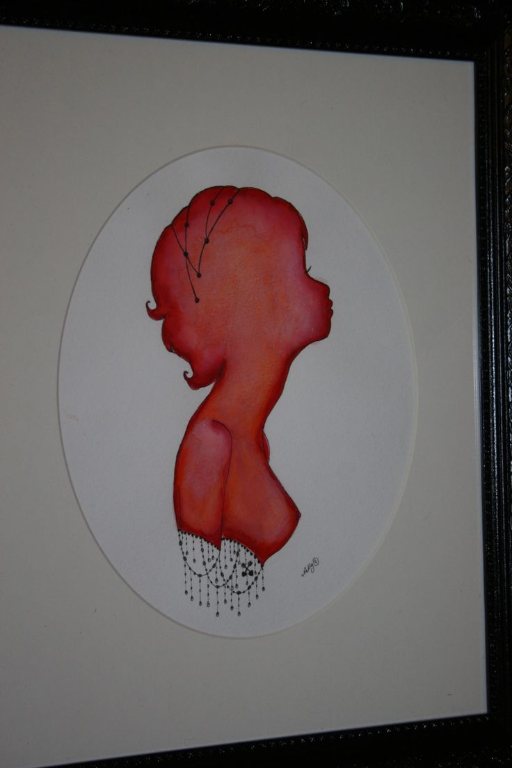 Watercolour Artwork. 'Chilli'  For SALE.
