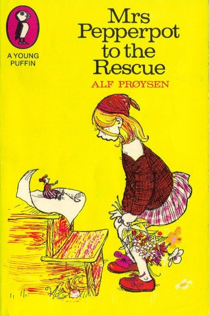 Mrs. Pepperpot to the Rescue, by Alf Proysen and illustrated by Bjorn Berg