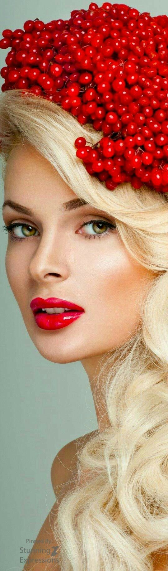 Glam in Red Berries