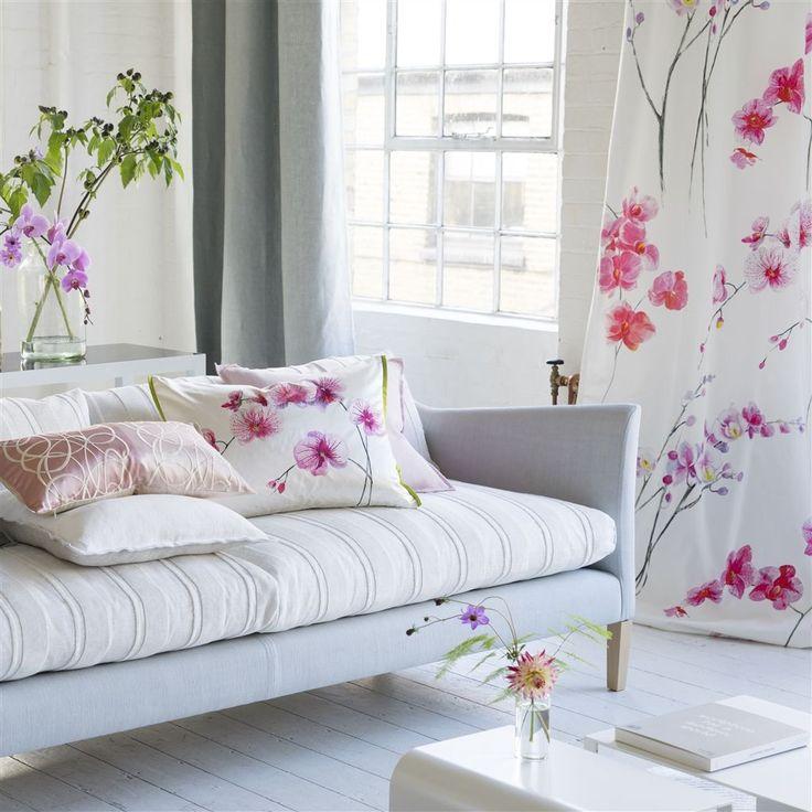 Orchidea Schiaparelli Cushion | Designers Guild