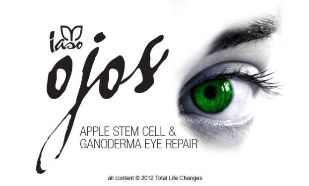 IASO™ OJOS www.lasotea.mex.tl iga adiós a esos círculos debajo de los ojos … Fortalece el colágeno natural y reduce los círculos oscuros alrededor de los ojos. El reparador de ojos Iaso Ojos, con tecnología antienvejecimiento, puede aumentar la vitalidad de las células madre de la piel, ayudando a nutrir, afirmar, proteger e hidratar.
