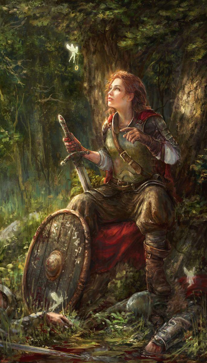 Saudade de quando representavam as guerreiras assim e não seminuas