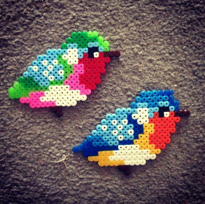 Bird hama bead