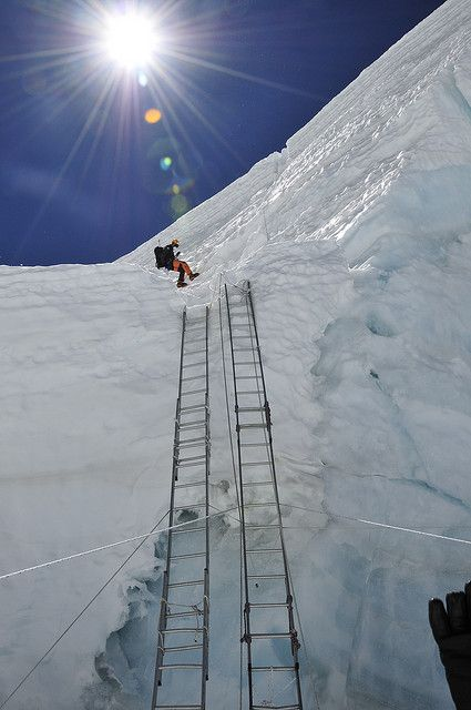 Mark coming down the icefall | by radson1