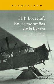Editorial Acantilado :: En las montañas de la locura. Libro de terror indispensable
