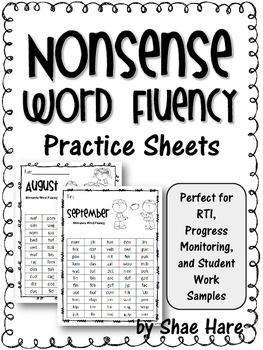 203 best Reading - Nonsense Words images on Pinterest   Nonsense ...