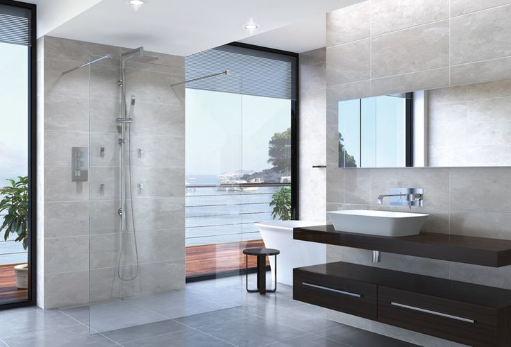 Have a look at our see through glass shower with a new modern look that you can add to your bathroom.