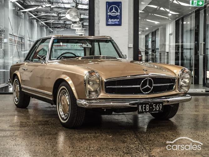1969 Mercedes Benz 280sl Sports Auto 194 990 Mercedes Benz