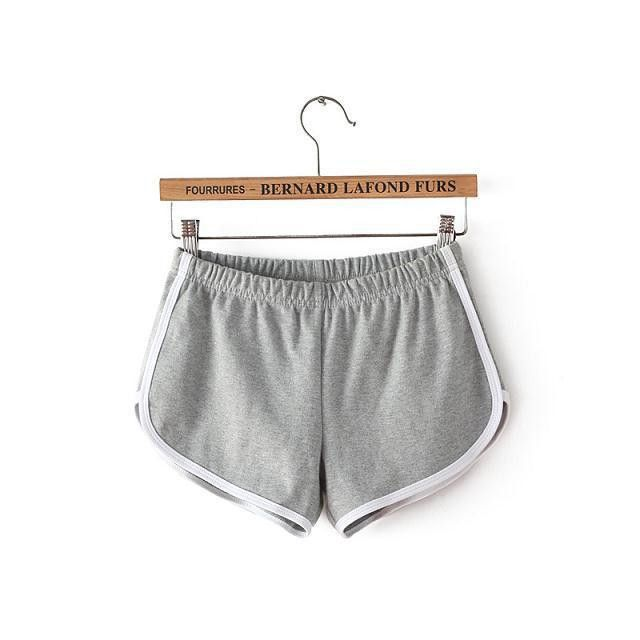 "Item Type: Shorts Fit Type: Regular Decoration: Pattern Pant Style: Harem Pants Pattern Type: Solid Style: ""European and American Style Waist Type: Mid Material: Cotton Closure Type: Elastic Waist Mat"