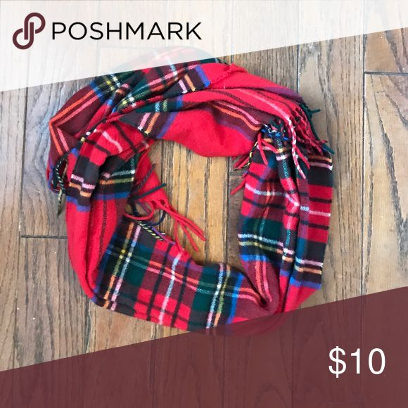 Red Plaid Scarf Red Plaid Scarf. Super soft and warm! Accessories Scarves & Wraps