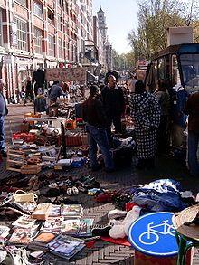 Waterlooplein - Amsterdam.  Great fleamarket on saturdays.