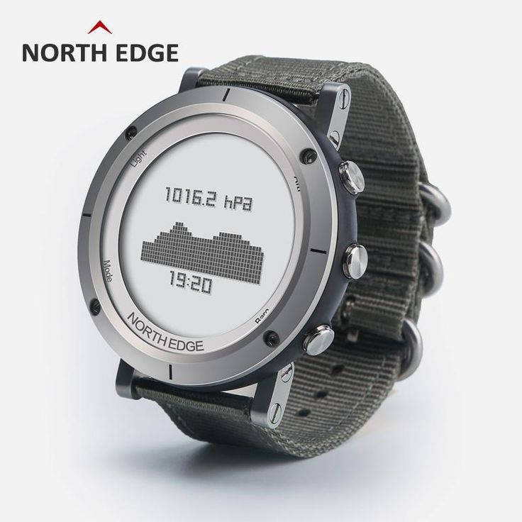 NORTH EDGE Men's sport Digital watch Hours Running Swimming watches Altimeter Barometer Compass Thermometer Weather Pedometer Who like it ?  #shop #beauty #Woman's fashion #Products #Watch