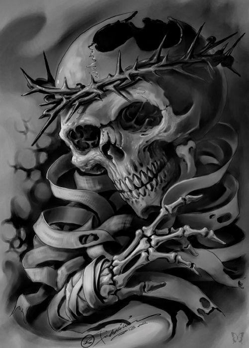 Skull - Tattoos Are Great