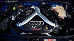 Audi S4 Avant B5 Biturbo Engine | tail happy | Flickr