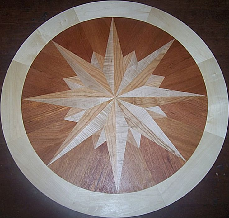 Compass Rose Floor : Best images about tip star floor medallions on