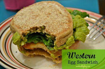 Western Egg Sandwich