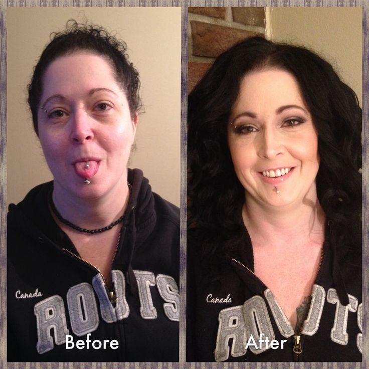 Before and after  http://www.facebook.com/ArtistryByBobi