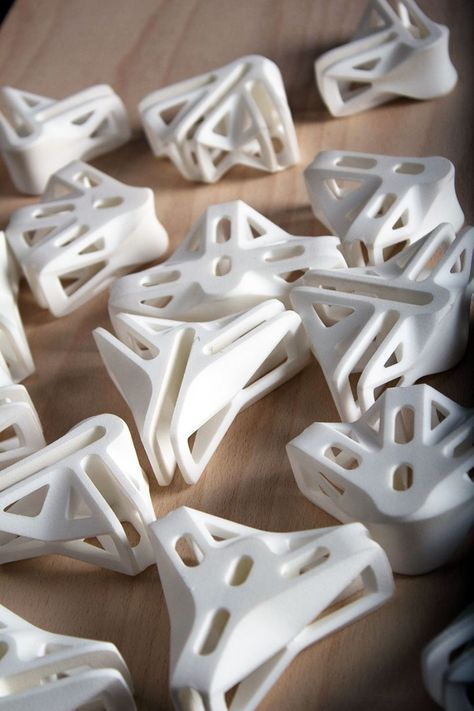 Print to Build 3D printed joint collection by Ollé Gellért » Retail Design Blog