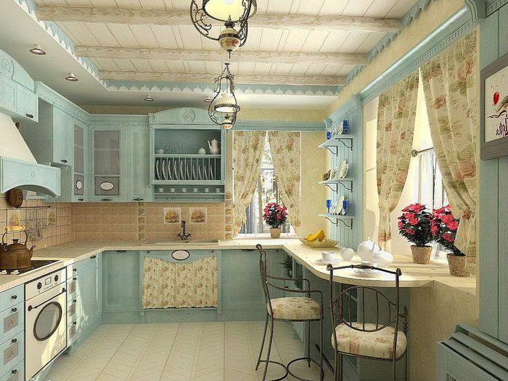 Кухня в стиле прованс | Идея кухни