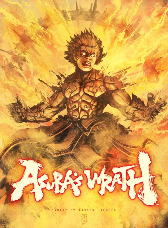 Asura's Wrath art