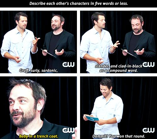 "Mark Sheppard is such a Supernatural fan, lol!! He even knows what ""SuperWhoLock"" is!!"