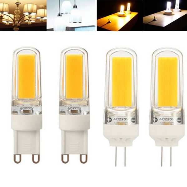 Zx Dimmable G4 G9 Led Filament Retro Cob Glass Light Bulb 110v 220v Replace Holagen Light Bulb Led Bulbs Tubes From Lights Lighting On Banggood Com Bulb Led Bulb Glass