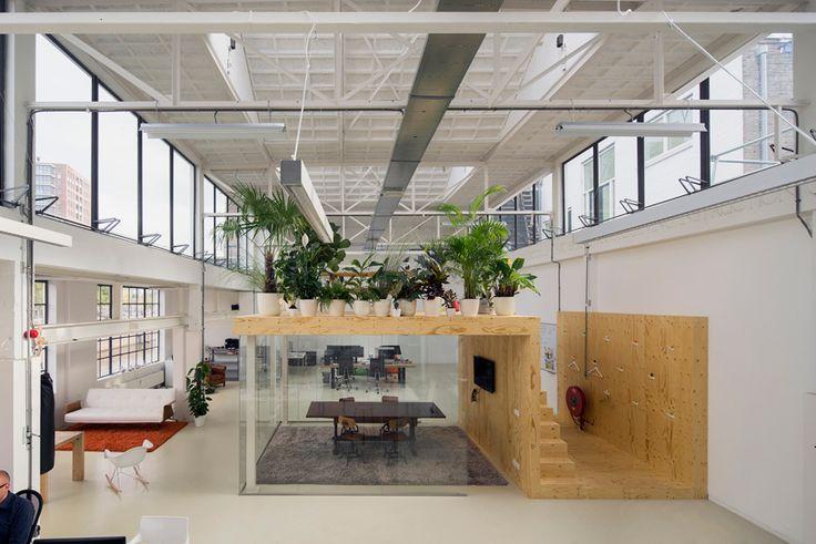 jvantspijker office space steam factory de fabriek van delfshaven rotterdam designboom