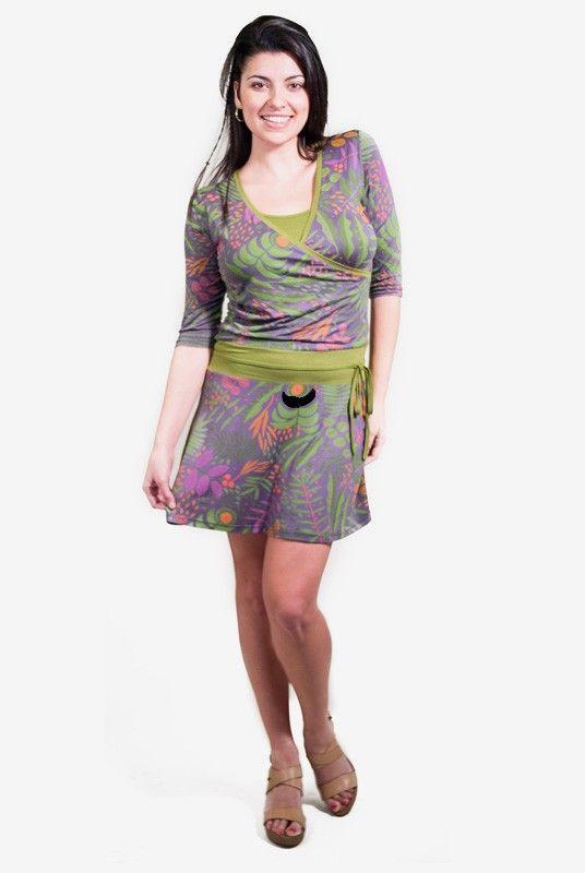 226787df3 Vestido lactancia Fiore - Tetatet - Camisetas de Lactancia y Vestidos de  Lactancia