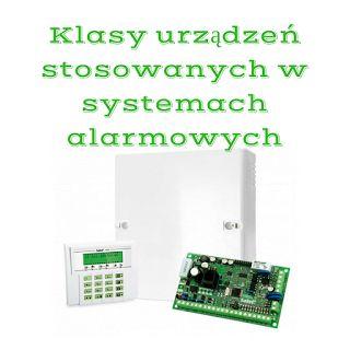BISPRO24: Klasy urządzeń stosowanych w systemach alarmowych