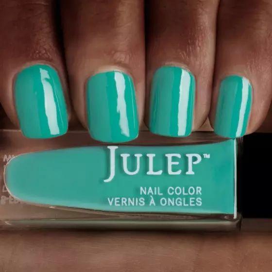 Taos turquoise crème nail polish