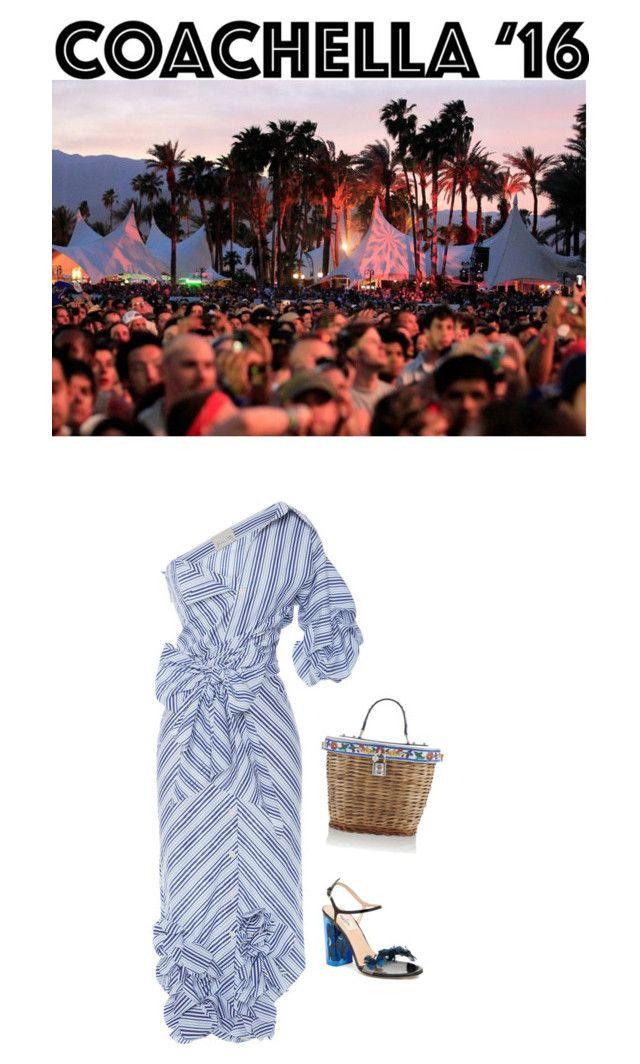 """Some Velvet Morning: A Look For Coachella '16"" by venus-in-fleurs on Polyvore featuring moda, Johanna Ortiz, Valentino e Dolce&Gabbana"