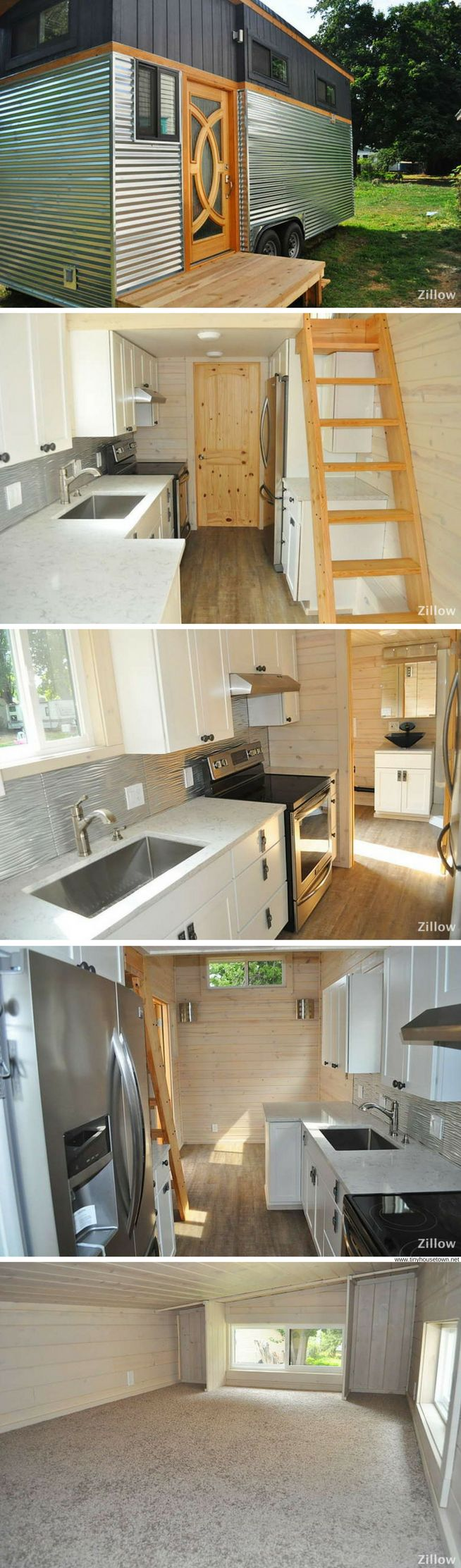 A tiny home available for sale in Sandpoint, Idaho!