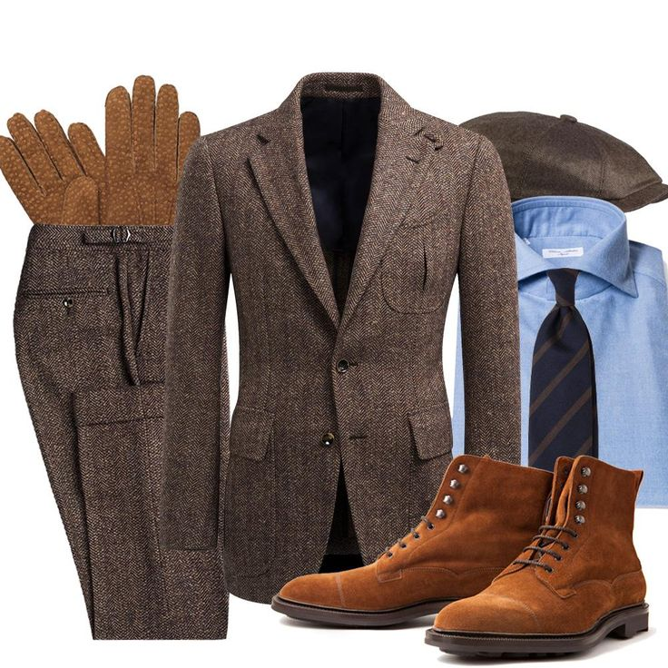 Manolo.se - Friday Inspiration, the Casual Suit Suit - Suit Supply, shirt - Cesare Attolini, Tie - Viola Milan, Gloves - Hestra, Cap - Stetson, boots - Edward Green