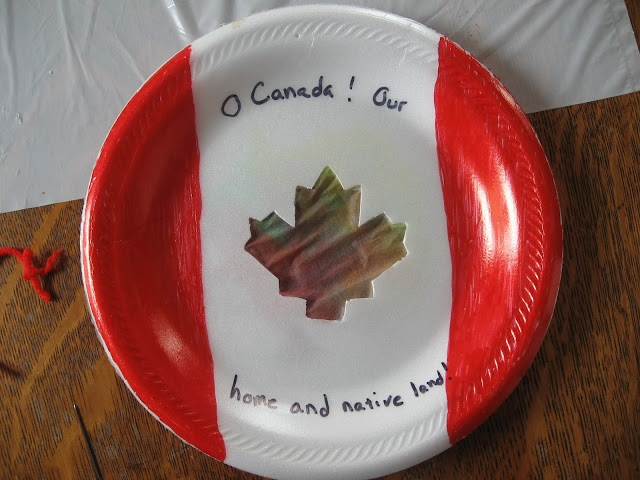 Week 21: Cute craft for Canada Day