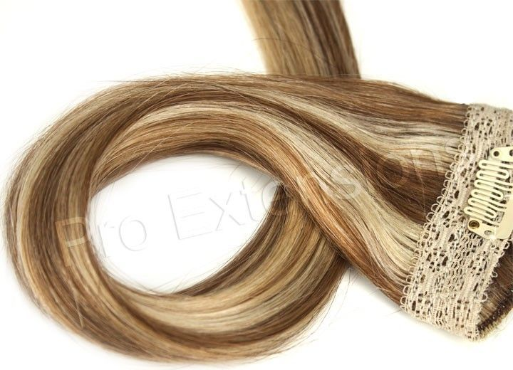 Pro Lace – 20 Inch Clip in Lace Weft Remy – #Clip …