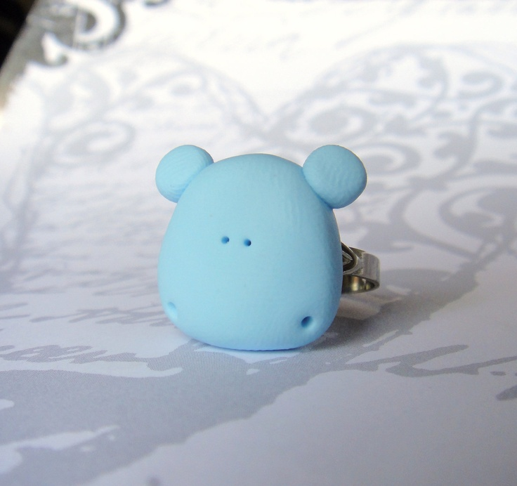 H is for Hippo Ring.