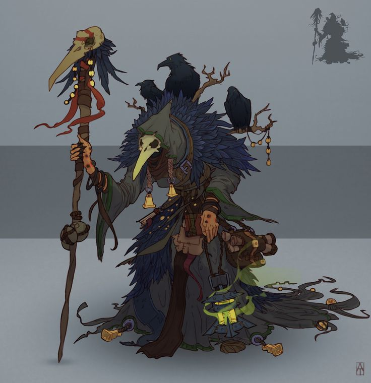 Witch, Alexander Trufanov on ArtStation at https://www.artstation.com/artwork/WPyK3
