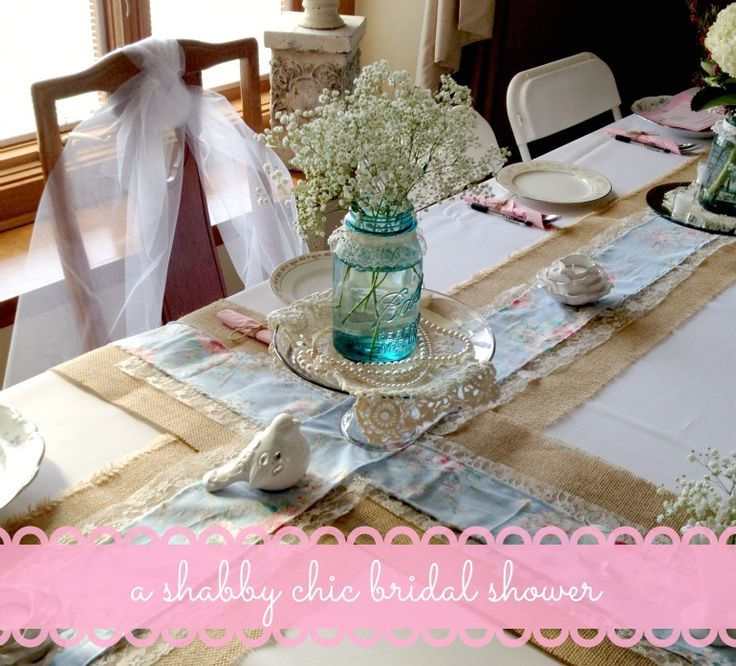A Shabby Chic Bridal Shower Part