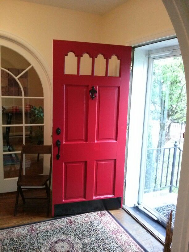 16 Best Front Door Color Red Images On Pinterest