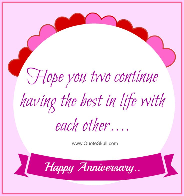 Anniversary Quotes For Girlfriend Prepossessing 33 Best Happy Anniversary Quotes Images For Mom Dad Brother . Design Ideas
