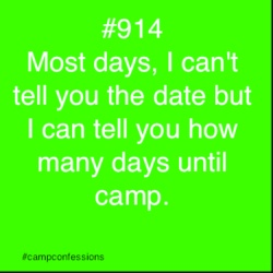 Camp Confessions: Archive