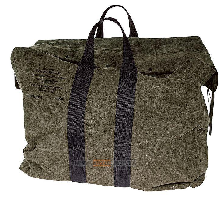 Сумка Parachute Bag Alpha Industries (оливкова)  Наявність: під замовлення  Ціна: 72 $
